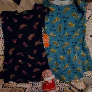 2 dresses by wonder nationsz. 4-5 girl s N.W.T.